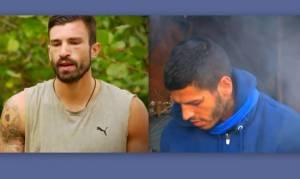 Survivor 2: «Στα μαχαίρια» Αγόρου – Γκότσης: «Αυτός βγάζει κακία απέναντι μου!»