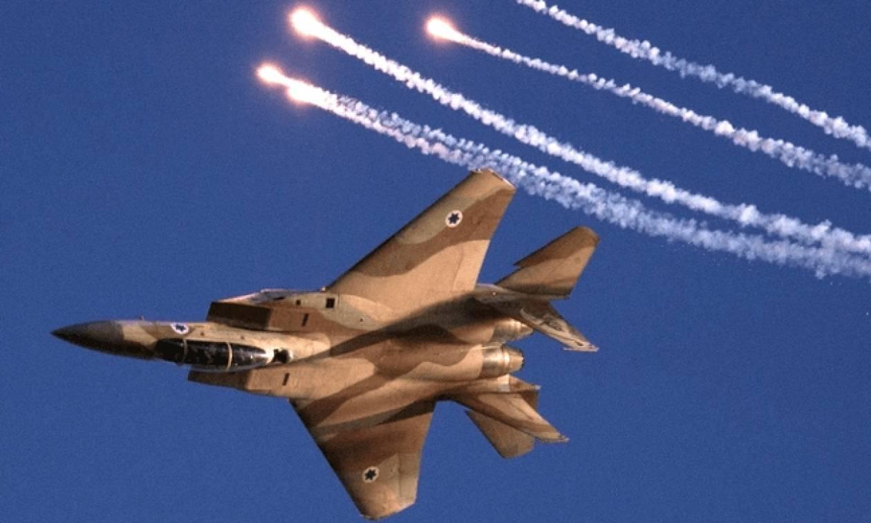 Συρία: Ισραηλινά μαχητικά βομβάρδισαν τον στρατό του Άσαντ