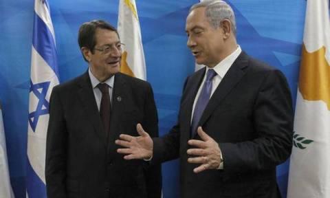 Нетаньяху поздравил Анастасиадиса с переизбранием на пост президента Кипра