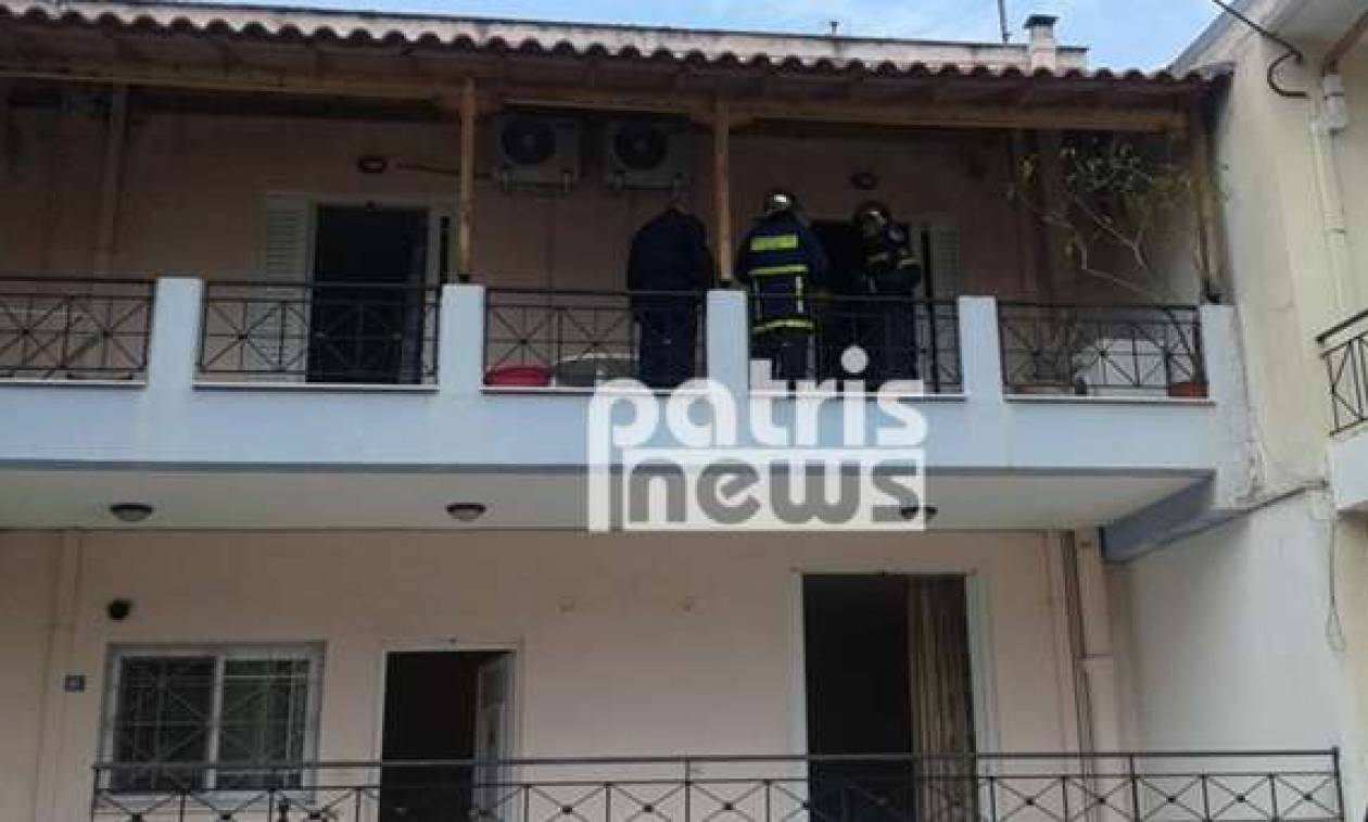 Τραγωδία στον Πύργο: Νεκρός σε διαμέρισμα που ξέσπασε φωτιά (pics)