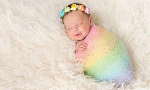 Εσείς γνωρίζετε για ποιο λόγο κάποια μωρά ονομάζονται «μωρά του ουράνιου  τόξου»  288121638c8