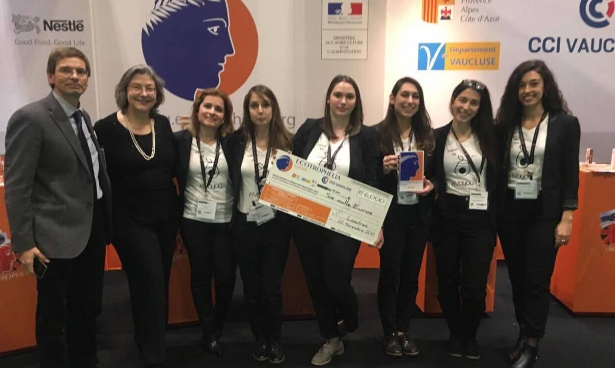 Χρυσή η ελληνική Oμάδα του ΕΜΠ στο Eυρωπαϊκό  «Champion's League» της Kαινοτομίας των Τροφίμων