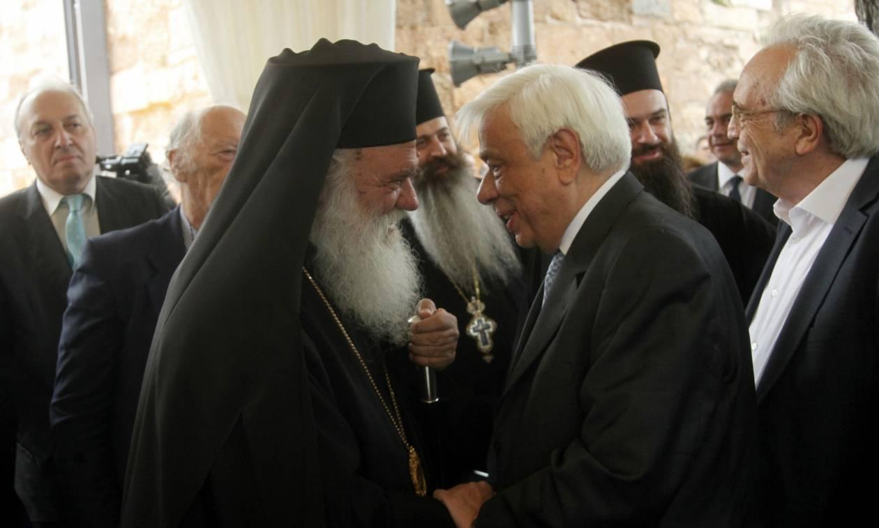 Παυλόπουλος σε Ιερώνυμο: Έχετε συμβάλει τα μέγιστα στην αρμονική συμπόρευση Πολιτείας - Εκκλησίας