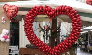 Άγιος Βαλεντίνος: H γιορτή των ερωτευμένων στη Θεσσαλονίκη