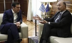 Συνάντηση Τσίπρα – Μοσκοβισί: Το καλοκαίρι του 2018 θα είναι ιστορικό για την Ελλάδα