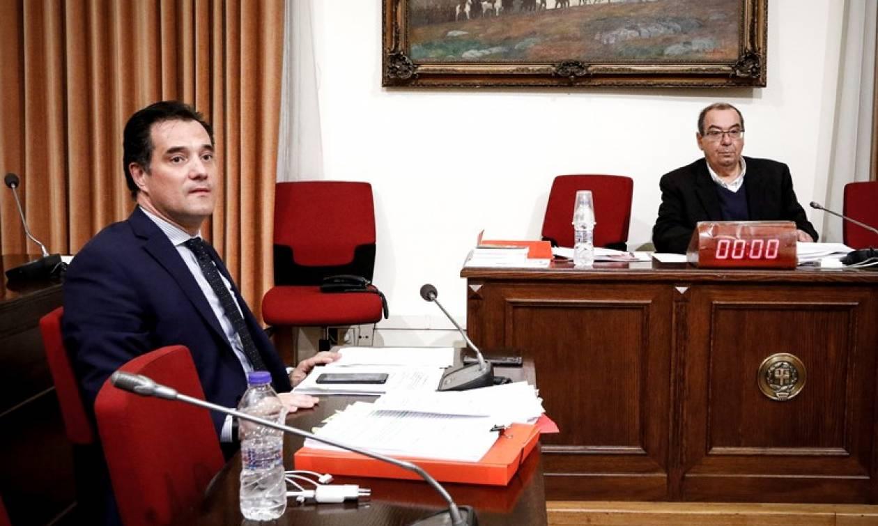 Υπόθεση Novartis: Σύσταση Προανακριτικής Επιτροπής ζητά ο Άδωνις Γεωργιάδης