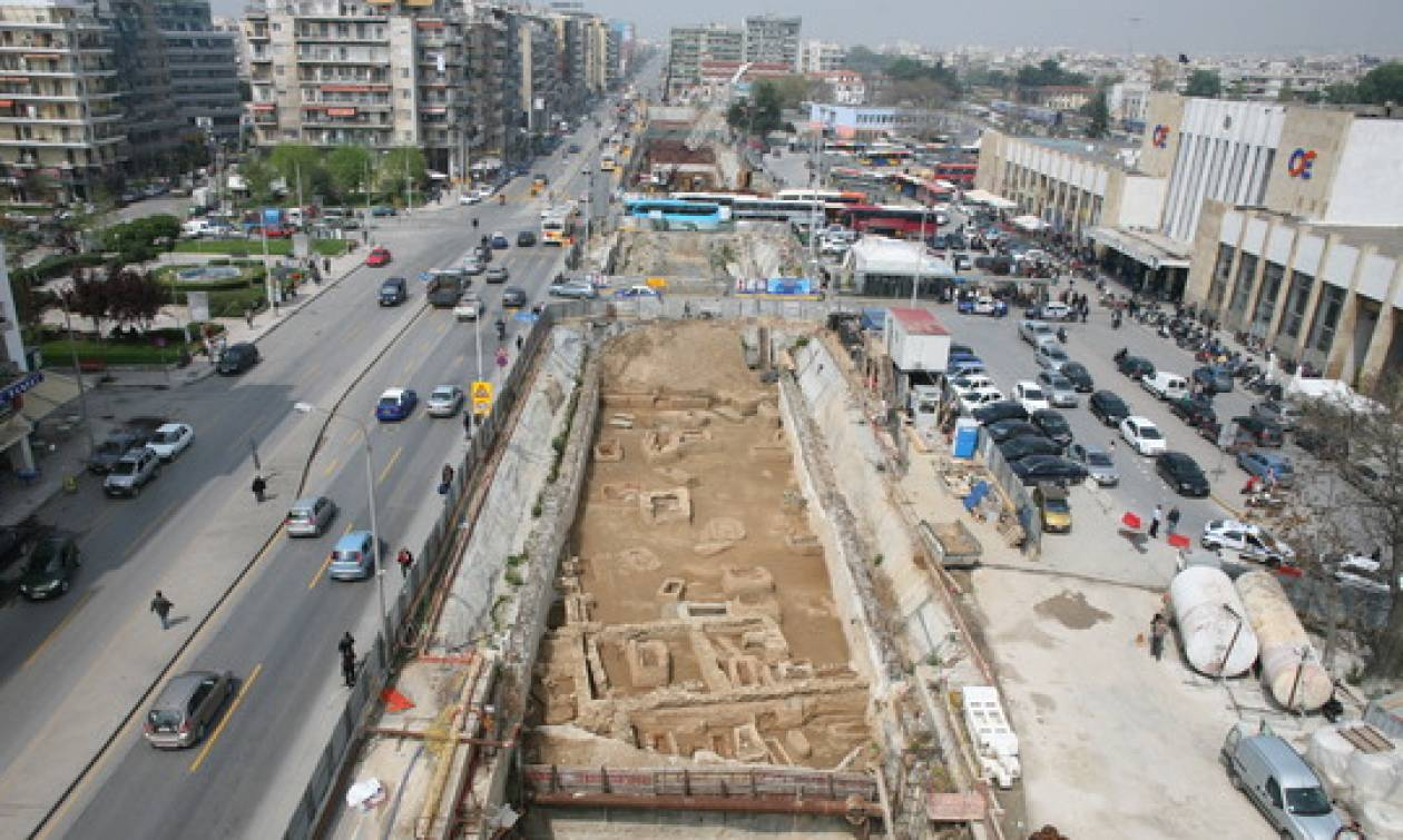 Θεσσαλονίκη: Κυκλοφοριακές ρυθμίσεις λόγω του Μετρό