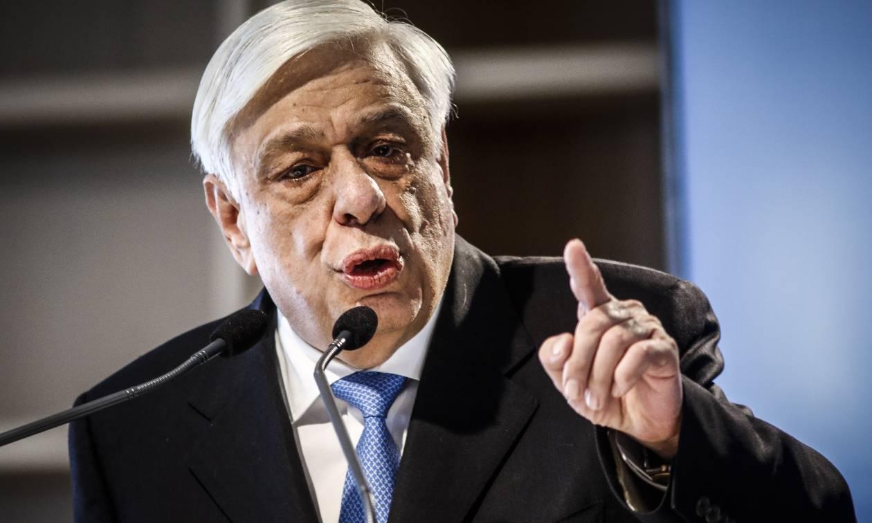 Παυλόπουλος: «Η Ελλάδα μπορεί πια να ατενίζει το μέλλον της με αισιοδοξία»