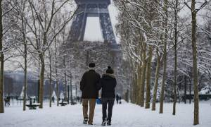 Γαλλία: Κλειστός ο Πύργος του Άιφελ μέχρι και το Σάββατο (10/02)