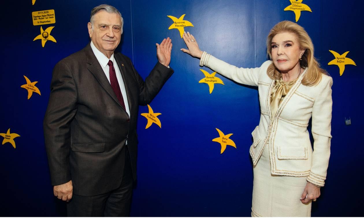 Επίσκεψη του Προέδρου της Ακαδημίας Αθηνών στο Ογκολογικό Νοσοκομείο Παίδων