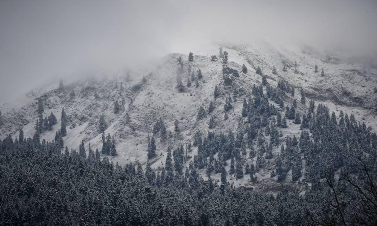 Δεν χιονίζει αρκετά… Μικρότερη φέτος η χιονοκάλυψη στην Ελλάδα
