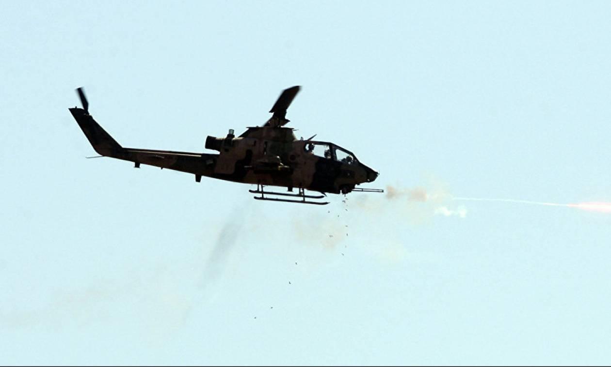 Ραγδαίες εξελίξεις: Καταρρίφθηκε τουρκικό στρατιωτικό ελικόπτερο - Νεκροί οι δύο πιλότοι (Vid)
