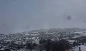 Νέα - Κοζάνη: Πανέμορφο λευκό σκηνικό στον Μεταξά (pics)