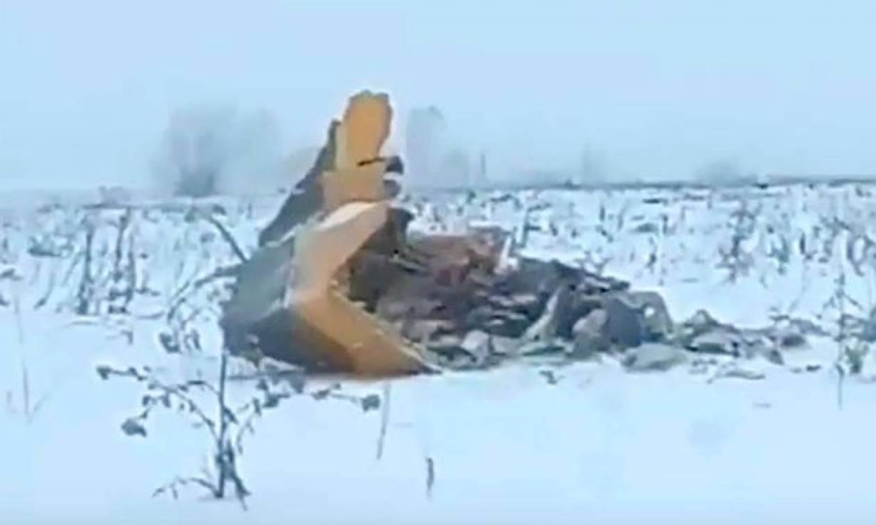 Τραγωδία στη Μόσχα: Συγκλονίζει η φωτογραφία από τη συντριβή του αεροσκάφους