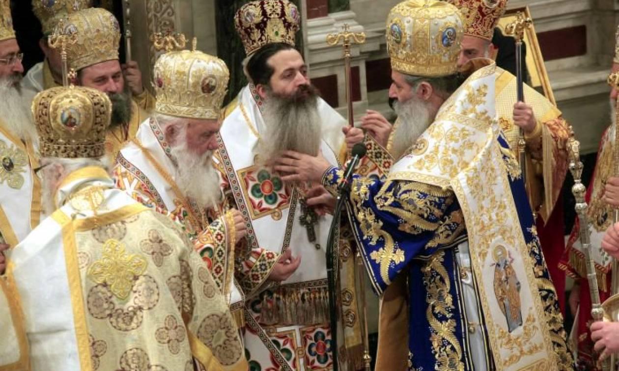 Χειροτονία του Επισκόπου Θεσπιών Συμεών στον Ιερό Μητροπολιτικό Ναό Αθηνών (pics+vid)