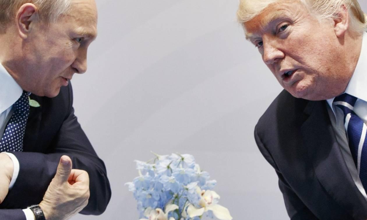 Μεσανατολικό και Βόρεια Κορέα στο επίκεντρο επικοινωνίας Τραμπ-Πούτιν