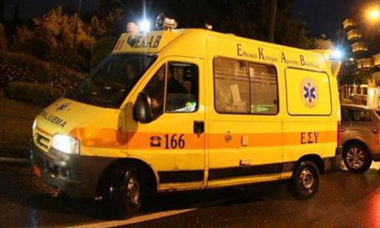 Χανιά: Οδηγός εγκλωβίστηκε μετά από τροχαίο