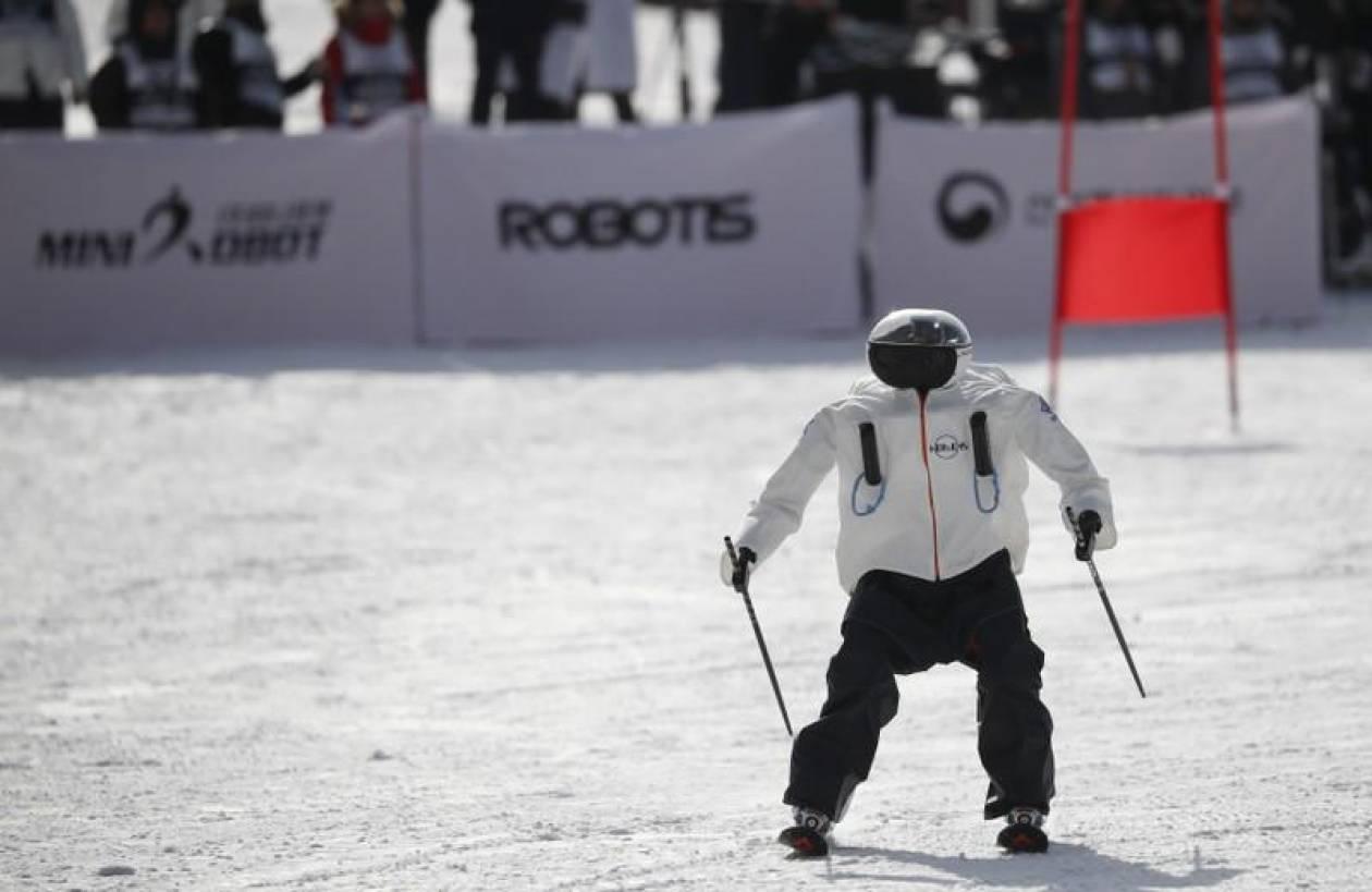 Χειμερινοί Ολυμπιακοί Αγώνες: Ρομπότ - σκιέρ κατεβαίνουν τις πλαγιές (pics&vid)