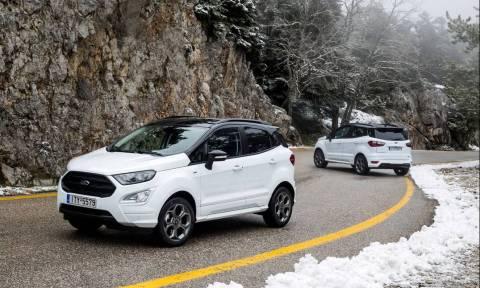 Το ουσιαστικά νέο Ford Ecosport ξεκινά από τα 1.000 κυβικά και τις 15.176 ευρώ