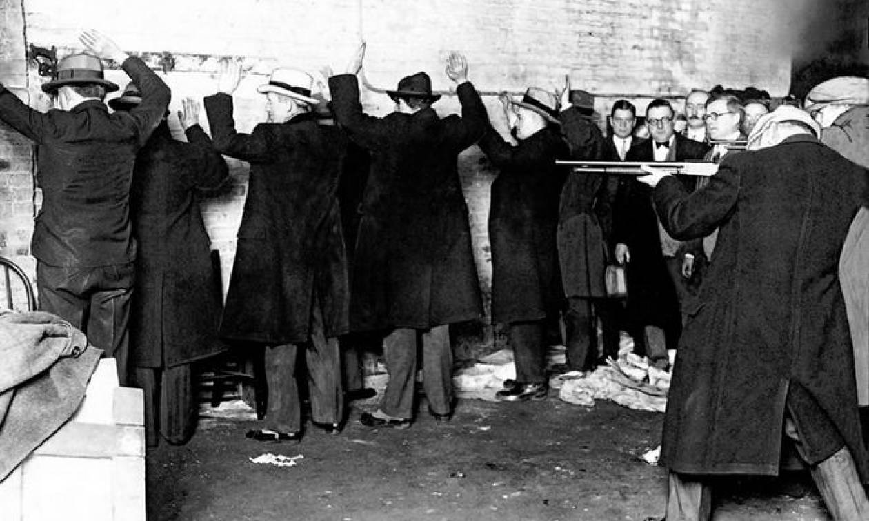 Σαν σήμερα το 1929 η σφαγή του Αγίου Βαλεντίνου