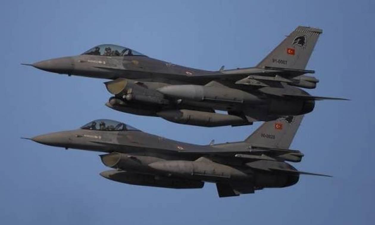«Τεντώνει» το σχοινί η Τουρκία: 52 παραβιάσεις από τουρκικά αεροσκάφη