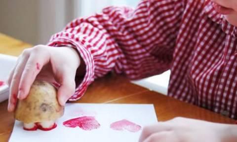 Ημέρα των Ερωτευμένων: Είκοσι χειροτεχνίες που μπορεί να κάνει το παιδί σας