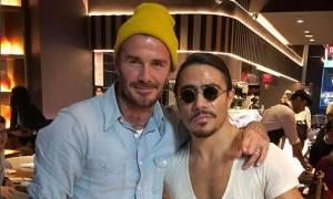 Ο David Beckham και τα παιδιά του επισκέφτηκαν τον διάσημο Τούρκο σεφ Nusr-Et κι έπαθαν σοκ (vid)
