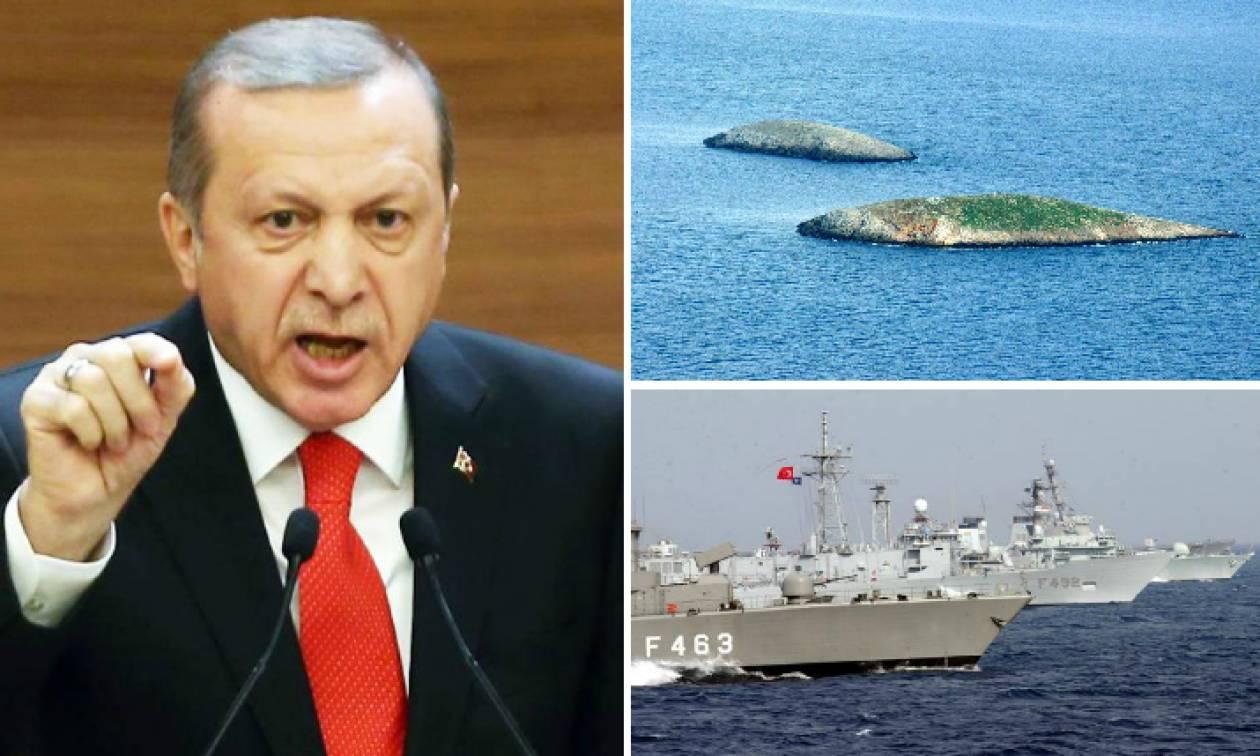 Ίμια – Δραματική νύχτα: Ο Ερντογάν αποδέσμευσε τους κανόνες εμπλοκής