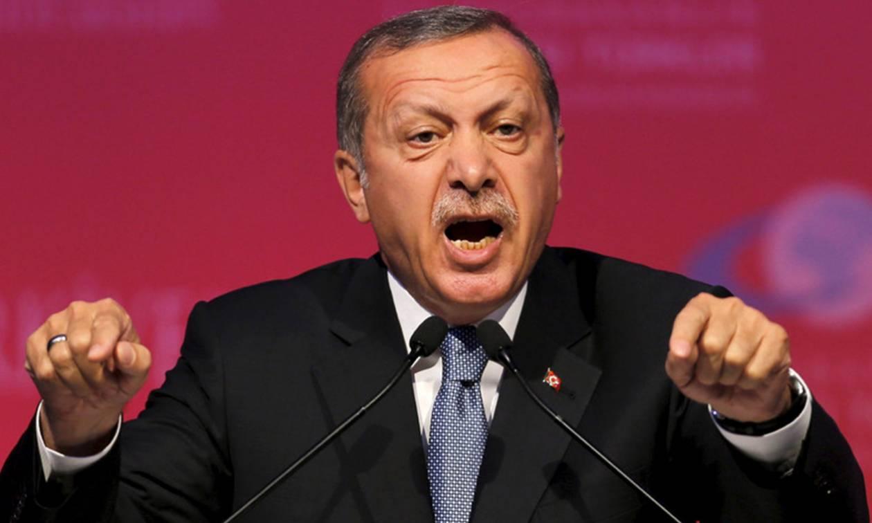 Ο Ερντογάν απειλεί και τις ΗΠΑ: Θα φάνε oθωμανικό χαστούκι