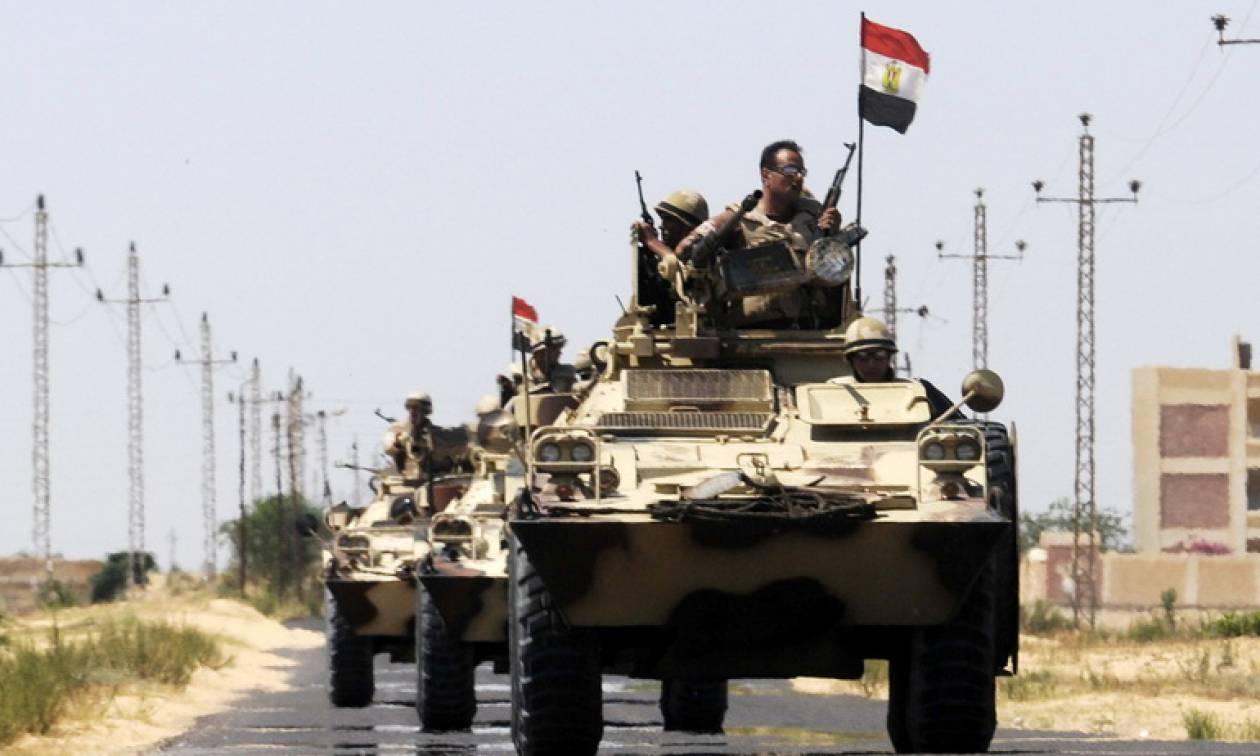 Αίγυπτος: 38 τζιχαντιστές έχουν σκοτωθεί και 526 ύποπτοι έχουν συλληφθεί μέσα σε τέσσερις μέρες
