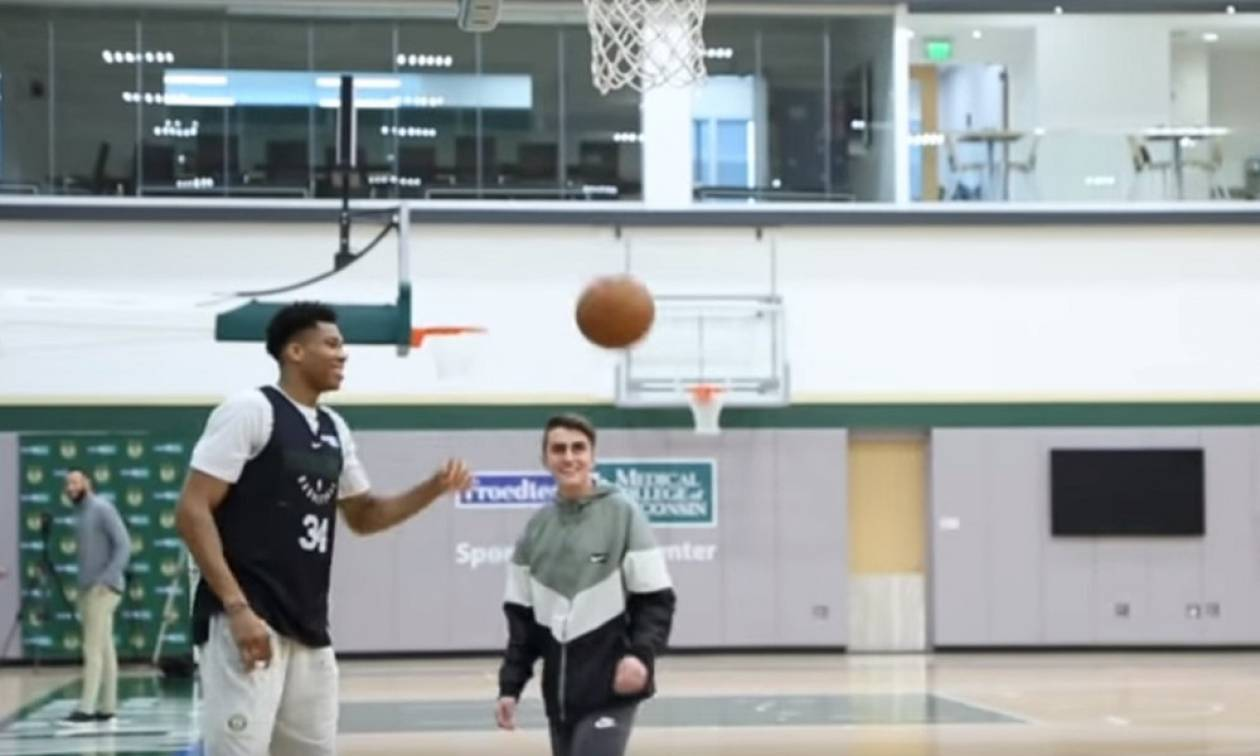 NBA: Τρομερή κίνηση Αντετοκούνμπο σε 15χρονο με πρόβλημα υγείας! (vids)