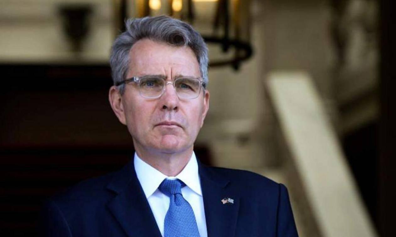Αμερικανική πρεσβεία: Δεν συνδέεται με την ένταση στο Αιγαίο η επίσκεψη Πάιατ στην Άγκυρα
