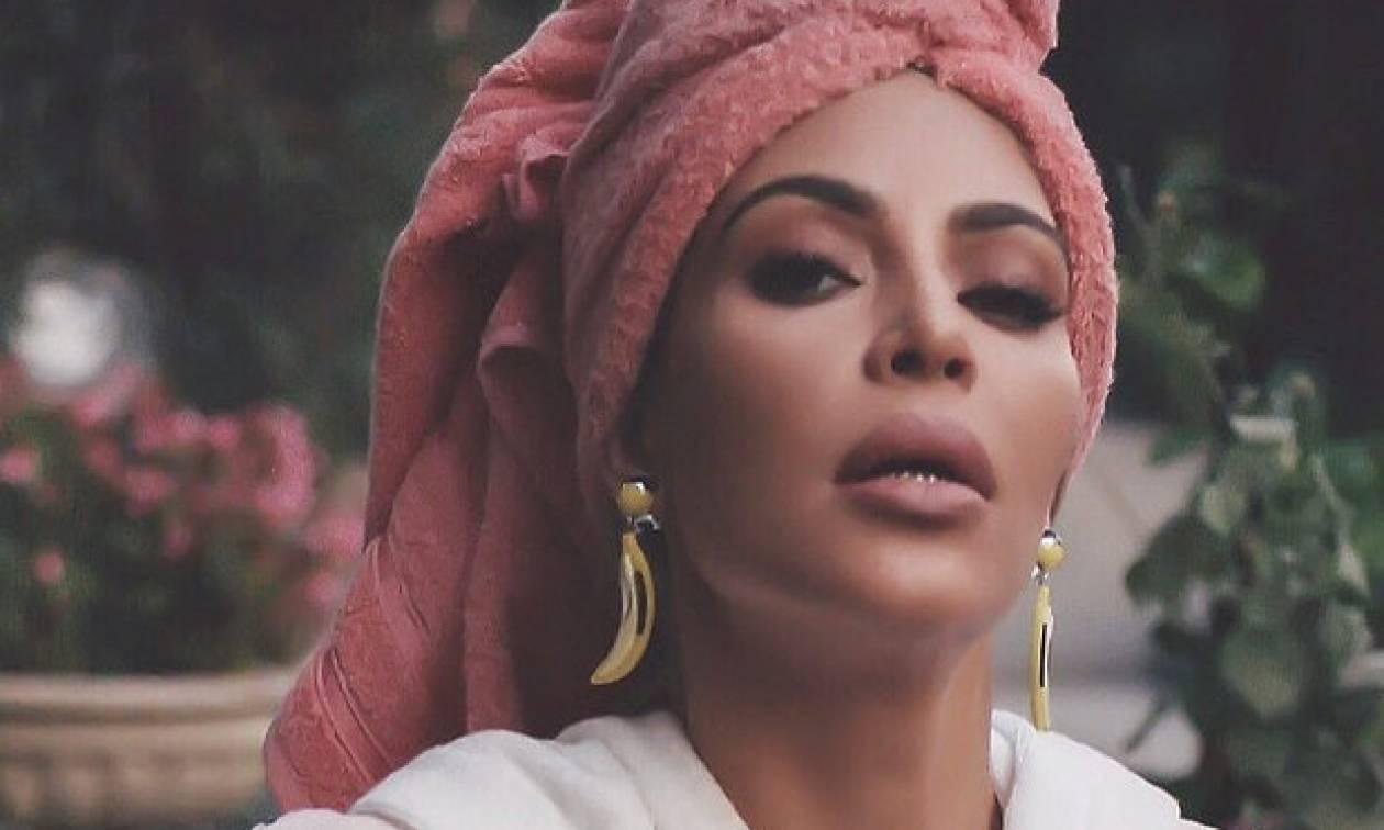 Η Kim Kardashian αποφάσισε να «εξαφανίσει» τη μέση της
