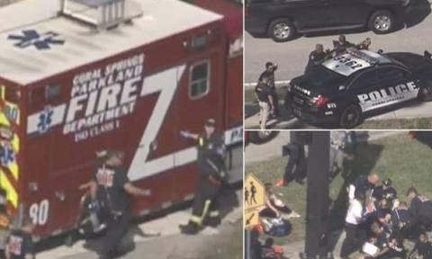 Τρόμος στις ΗΠΑ: Ένοπλος σκόρπισε το θάνατο σε σχολείο στη Φλόριντα (pics+vid)