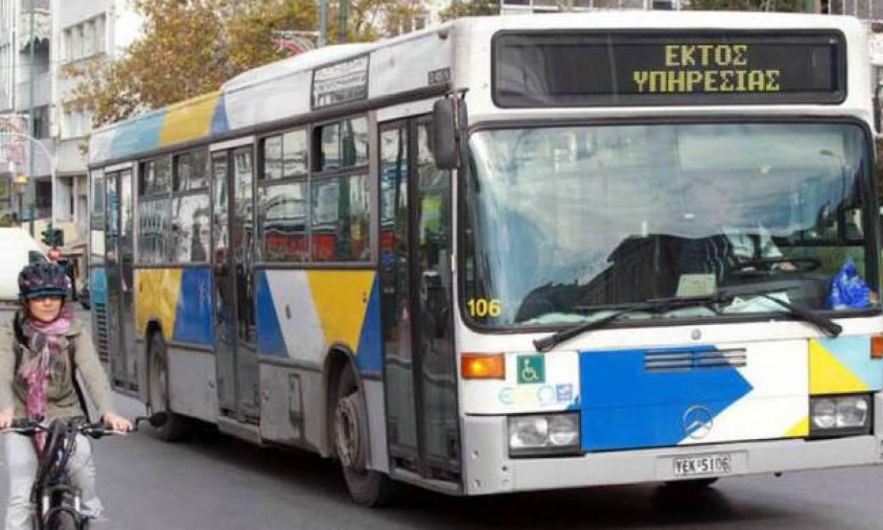 Στάση εργασίας στα λεωφορεία - Δείτε πότε «τραβούν» χειρόφρενο