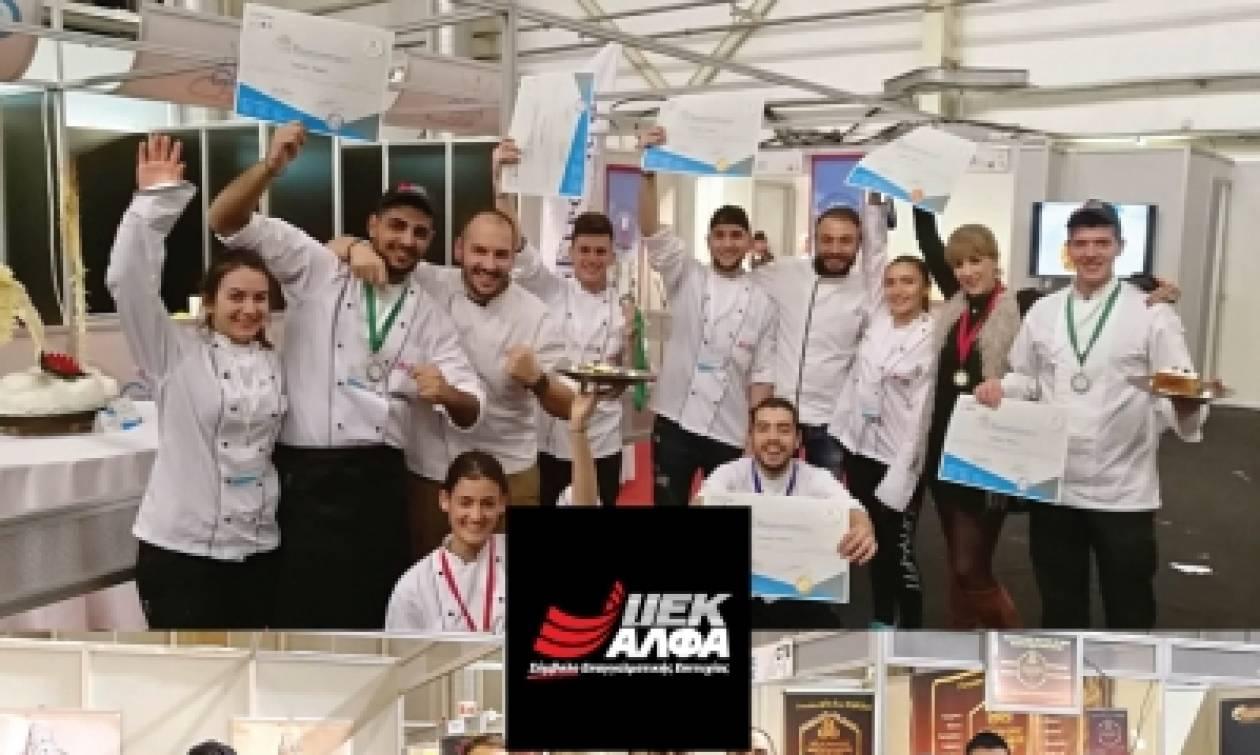 5η ΕΞΠΟΤΡΟΦ: Πρώτοι σε μετάλλια οι σπουδαστές Μαγειρικής και Ζαχαροπλαστικής του ΙΕΚ ΑΛΦA
