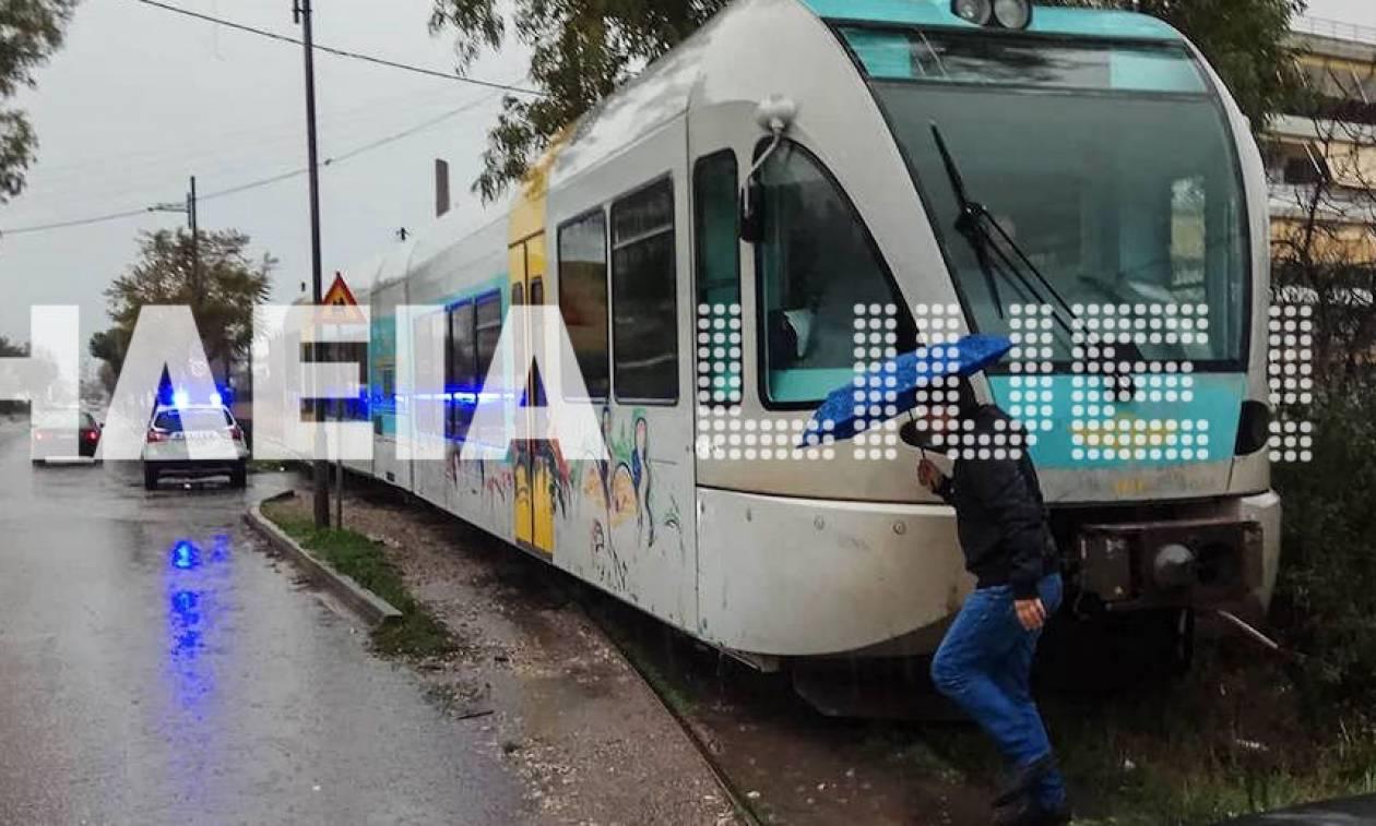 Πύργος: Εκτροχιάστηκε τρένο στο δρομολόγιο από Κατάκολο για Πύργο