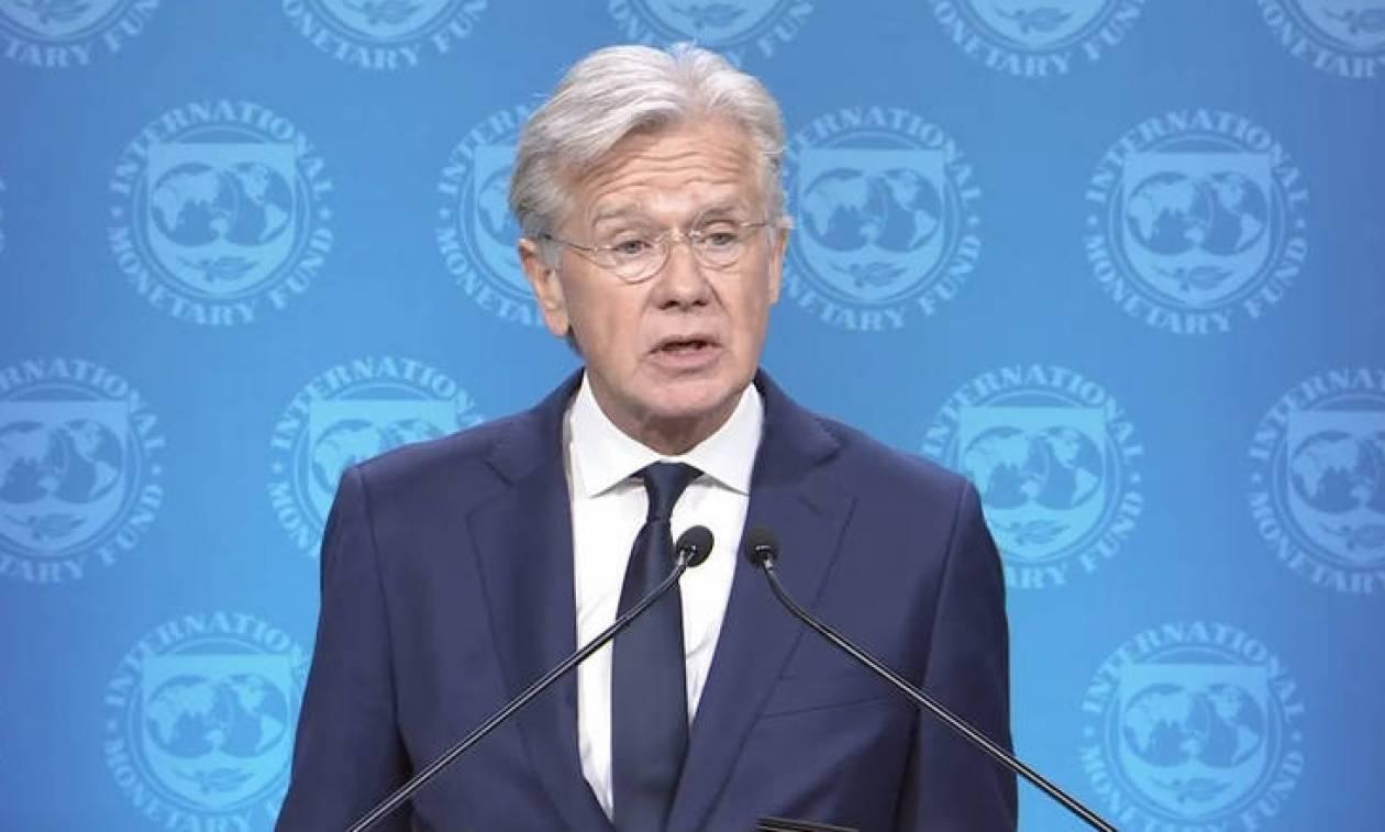 ΔΝΤ: Εργαζόμαστε για ένα θετικό αποτέλεσμα για το χρέος