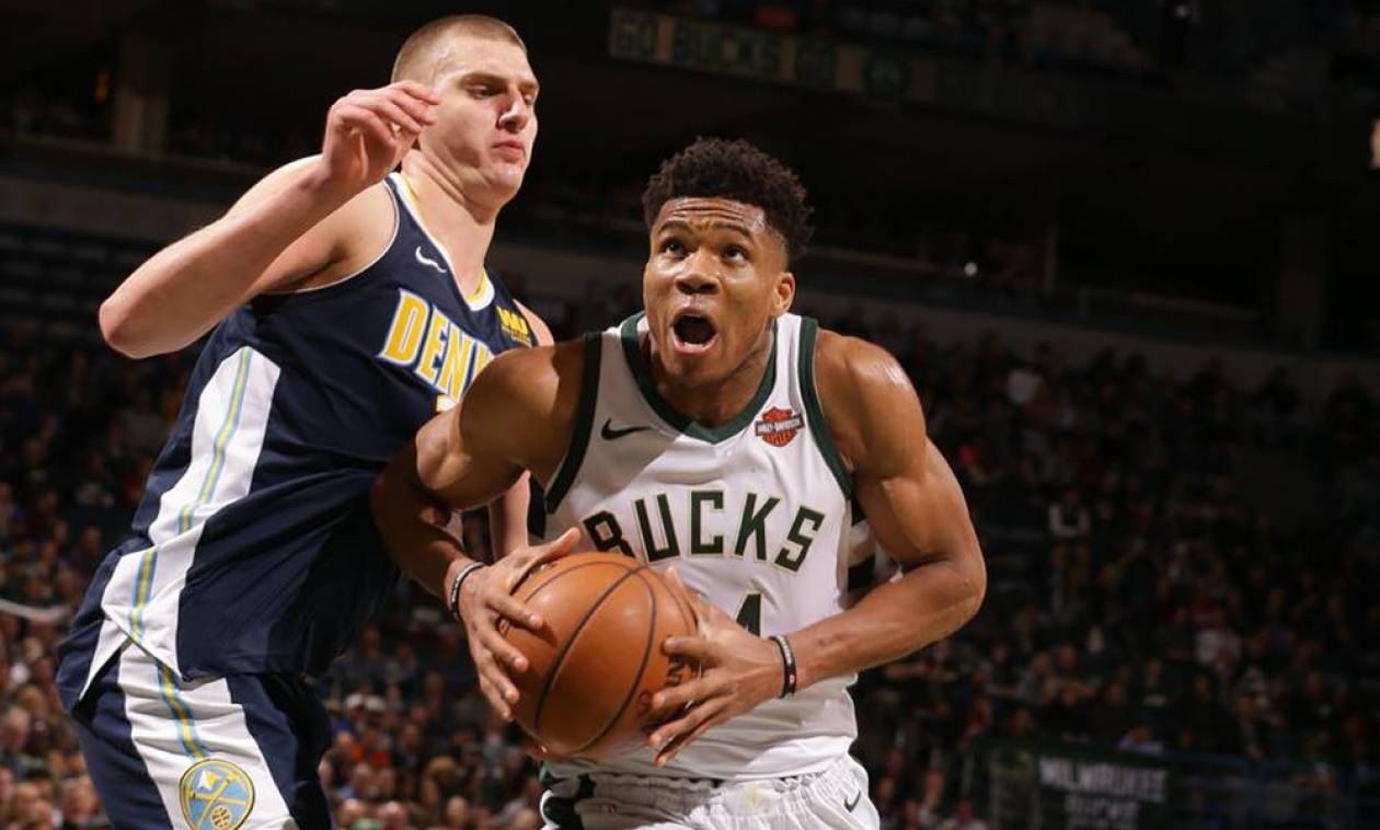 NBA: Οργίασε ο «τριπλός» Αντετοκούνμπο αλλά δεν έφτανε! (pics+vid)
