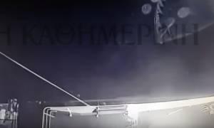 Ίμια: Επικίνδυνο παιχνίδι στο Αιγαίο - Τα βίντεο από το «Γαύδος» που «καίνε» τους Τούρκους