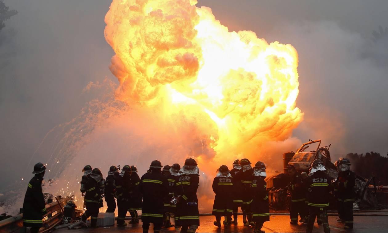 Τραγωδία στην Κίνα: Στις φλόγες τυλίχθηκε μονάδα ανακύκλωσης – Τουλάχιστον εννέα νεκροί