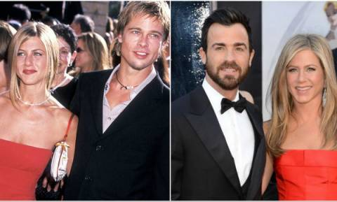 Jennifer Aniston με Brad Pitt vs Jennifer Aniston με Justin Theroux: Με ποιον την προτιμάτε;