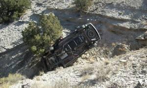 Ρέθυμνο: Αυτοκίνητο έπεσε σε χαράδρα - Εγκλωβίστηκαν οδηγός και επιβάτες
