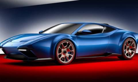 H θρυλική De Tomaso Pantera αναβιώνει με 650 ίππους και βάση τη Lamborghini Huracan