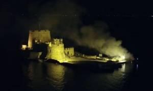 Αναστάτωση στο Ναύπλιο – Πανικόβλητοι όσοι κοίταξαν το Μπούρτζι το βράδυ της Κυριακής (video)