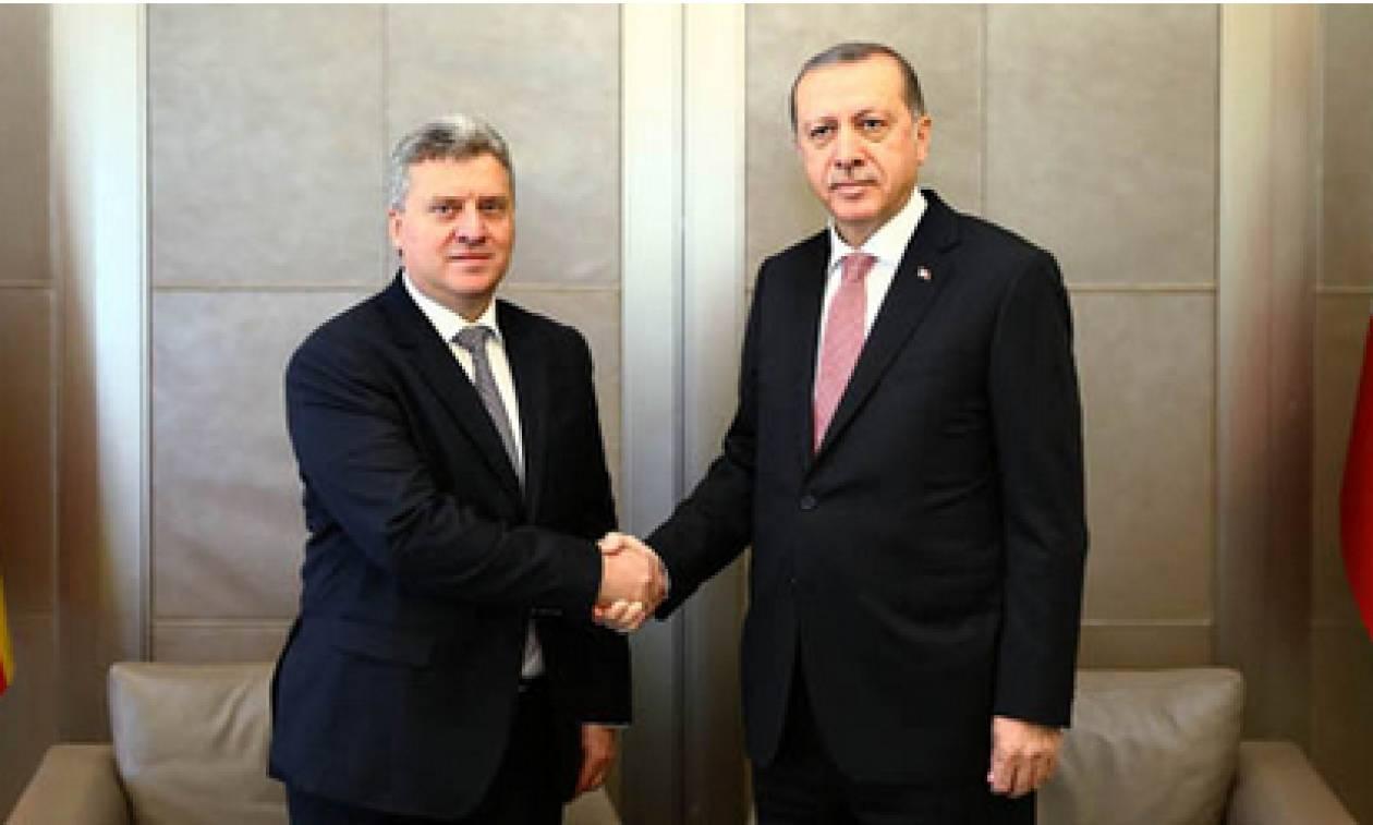 Στην Τουρκία μεταβαίνει για να συναντηθεί με τον Ερντογάν ο Πρόεδρος των Σκοπίων
