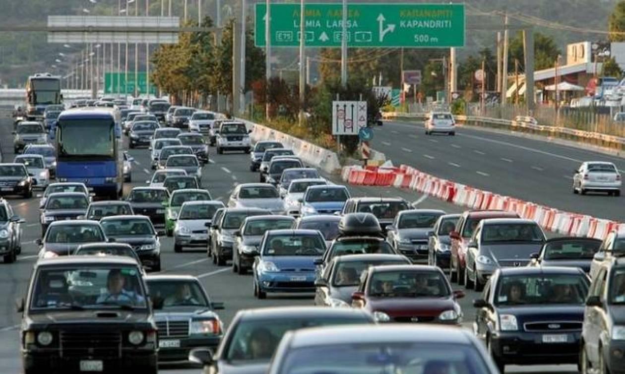 ΤΩΡΑ: Επιστρέφουν οι εκδρομείς του τριημέρου - Αυξημένη κίνηση στις εθνικές οδούς