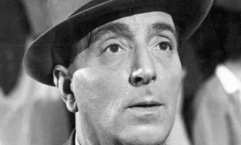 Σαν σήμερα το 1960 πεθαίνει ο δημοφιλής Έλληνας ηθοποιός Βασίλης Λογοθετίδης