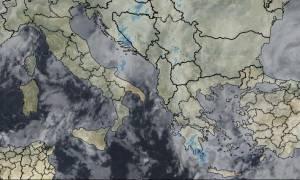 Καιρός - Έκτακτο δελτίο ΕΜΥ: Νέο κύμα κακοκαιρίας με ισχυρές καταιγίδες και χιονοπτώσεις (pics)