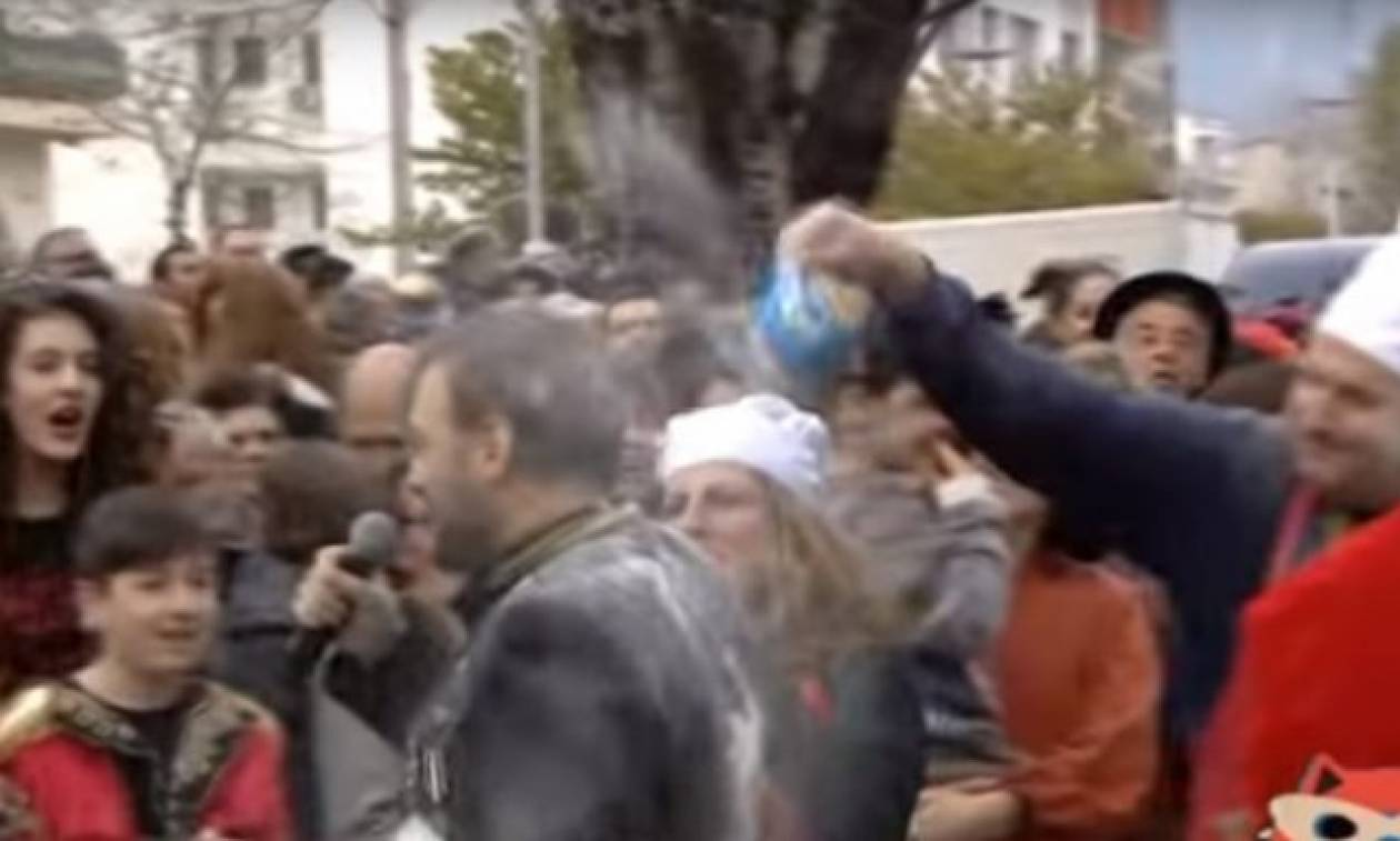 Χρήστος Φερεντίνος: Μόλις διέρρευσε! Το βίντεο που δείχνει τι πραγματικά συνέβη στο καρναβάλι
